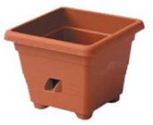 Hranatý samozavlažovací kv. Bergamot 35x35 cm T