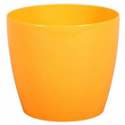 Obal MAGNOLIA plast 18 cm žlutá