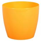 Obal MAGNOLIA plast 10 cm žlutá