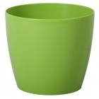Obal MAGNOLIA plast 13,5 cm sv. zelená