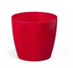 Obal MAGNOLIA plast 12 cm červená