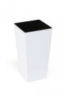 Plastový květináč Finezia 40 x 40  bílá