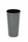 Designový květináč LILIA 30 cm antracit