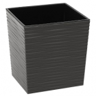 Designový květináč JUKA DLUTO 40 x 40 šedá