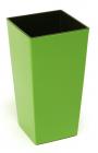 Plastový květináč Finezia 19 x 19 zelená