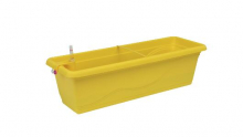 Samozavlažovací truhlík Smart Systém Extra Line 60 cm žlutá