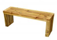 Paletová lavice (bez nátěru)
