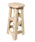 Barová stolička (bez nátěru)