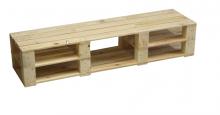 Televizní stolek - vysoký (bez nátěru)