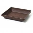 Podkvětináč Lotos 50x50 čokoláda