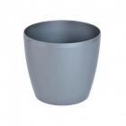 Obal MAGNOLIA plast 21 cm šedá