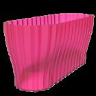 Truhlík Triola 38 cm průsvitná fialová