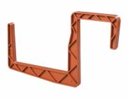 Držák truhlíku Universal na hranu 11x12 cm terakota