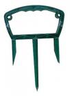 Upevňovací držáky 19x27 cm, zelené, 4 ks