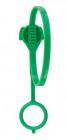 Upínací pásek, clip, zelená 42 cm patentováno 2 ks