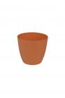 Dekorativní květináč Ella  11 cm oranžová