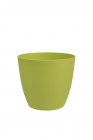 Dekorativní květináč Ella  13 cm hráškově zelená