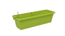 Samozavlažovací truhlík Smart Systém Extra Line 60 cm hráškově zelená