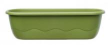 Samozavlažovací truhlík MARETA 60 cm zelená sv. + zelená tm.