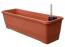 Samozavlažovací truhlík BERGAMOT 80 cm terakota
