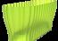 Truhlík Triola 38 cm průsvitná zelená